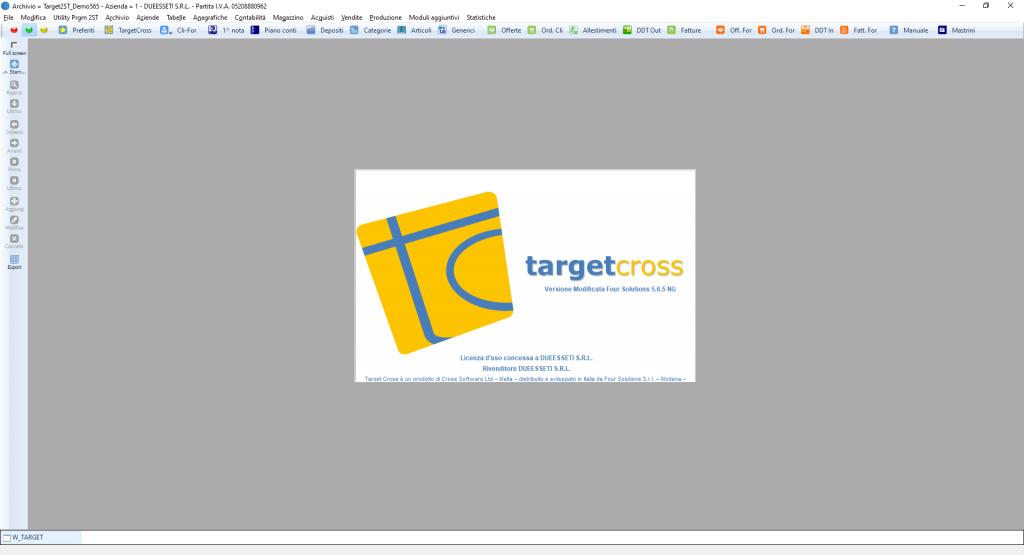 Software Target Cross