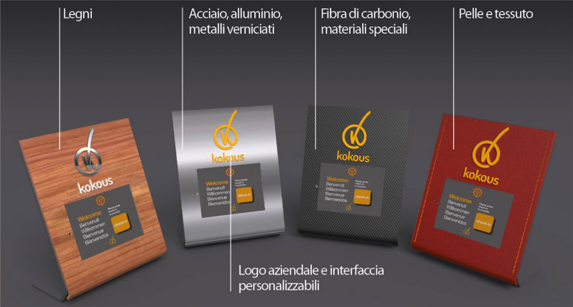 Interfacce personalizzabili di Kokous